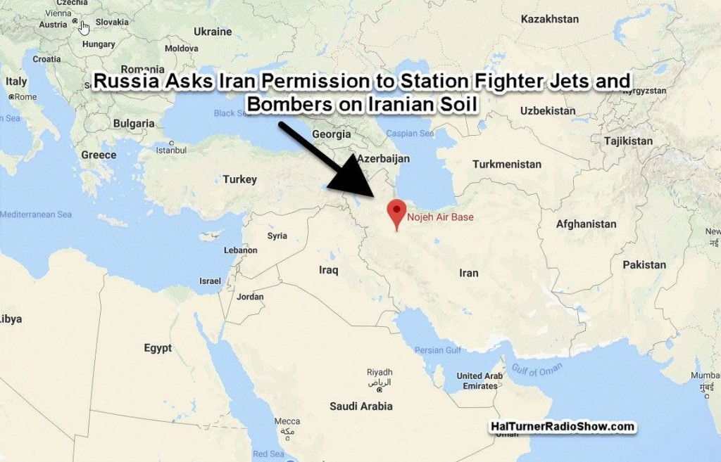 Map Noyeh airbase, Iran. Click to enlarge
