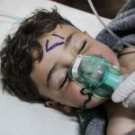 Photo from the BBC's 'How chemical weapons have helped bring Assad close to victory'. Click to enlarge