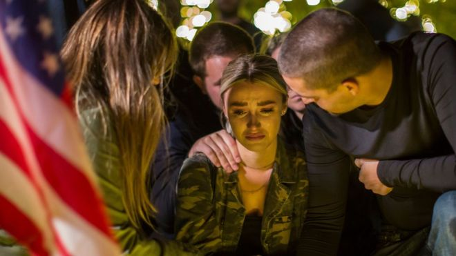 A vigil was held for the victims of the latest shooting