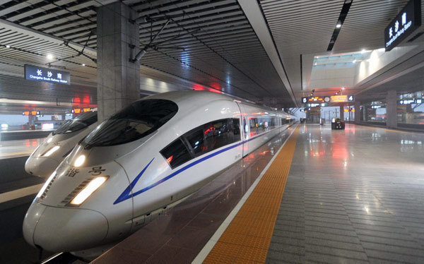 Fast rail is hardly unique to China, but the scale is. So far there are 17,000 miles of fast rail in China, aiming at 24,000 by 2025. The United States couldn't finish the environmental impact statement as quickly. The Shanghai maglev line reaches 267 mph.