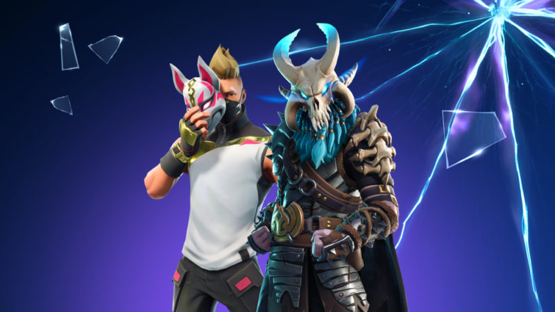 Fortnite is the world's most popular video game. In less than a year, it drew in over 125 million players, earned hundreds of millions of dollars per month and became a cultural phenomenon. Of course, the one-eye sign had to be all over the place. This is a promo for Season 5 featuring a dude hiding one eye. Click to enlarge
