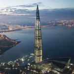 Construction of Europe's Tallest Building Finishes in St. Petersburg