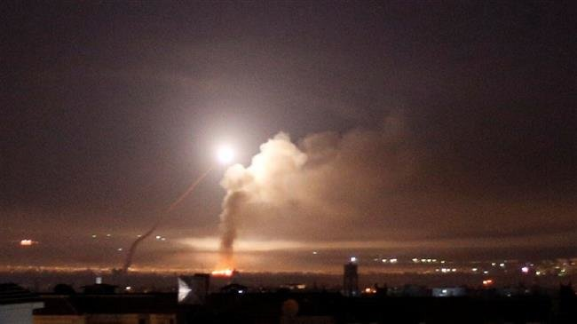Syrian air defence downs hostile target