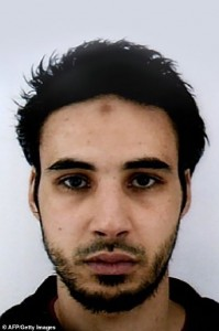 Cherif Chekatt, 29, the Strasbourg shooting suspect. Click to enlarge