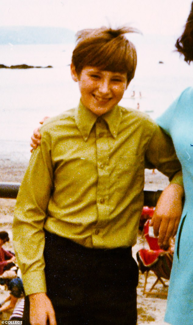Leanne as a boy, Lee, aged 11. Click to enlarge