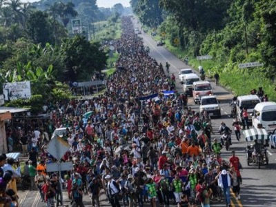 Migrant caravan recruited and organised Pueblo sin fronteras, a George Soros funded NGO
