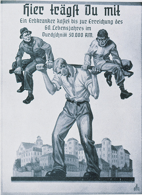 Nazi propaganda You-Are-Sharing-The-Load