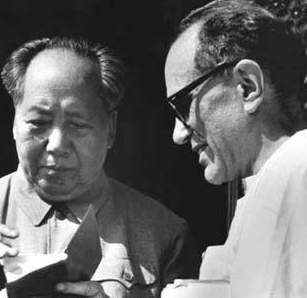 Mao with Sidney Rittenberg