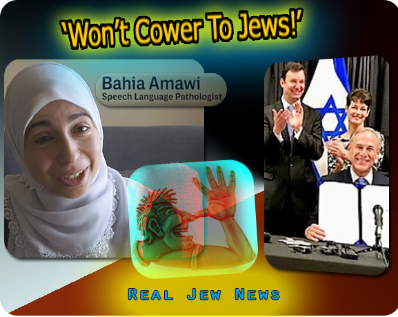 wont cower to Jews