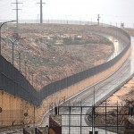 """""""Jews"""" only highway opens next to giant Israeli border wall"""