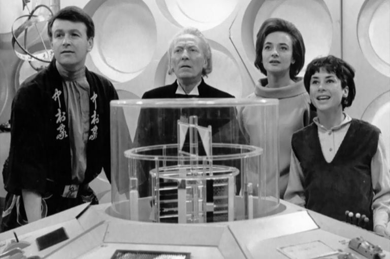 Original Dr Who cast