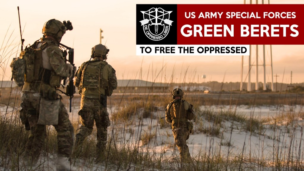 US Special Forces Green Berets