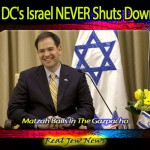 DC's Israel NEVER Shuts Down