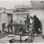 Witnesses point to the direction of the gunfire that killed MLK. Click to enlarge