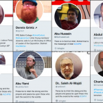 Some of the troll network's multiple fake personalities and stolen photos. Click to enlarge