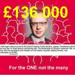 Scandal: An Impoverished Labour Council spent  £136.000  to stop me from playing sax and got Santa Claus instead