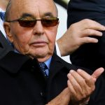 British billionaire, Joseph C. Lewis, at a Tottenham Hotspurs football game in the United Kingdom.
