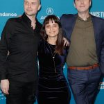 """(L-R) Lucien Greaves, Penny Lane and Gabriel Sedgwick attend the """"Hail Satan?"""" premiere during the 2019 Sundance Film Festival at The Ray on Jan. 25, 2019 in Park City, Utah. (Photo by Tibrina Hobson/Getty Images)"""