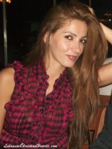 A woman on a Lebanese dating site. Click to enlarge