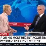 """Stunned Anderson Cooper Cuts CNN Interview After Trump Accuser Calls Rape """"Sexy"""""""