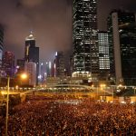 Hong Kong's central streets were packed with protesters calling for the total withdrawal of a controversial extradition law. Photograph: Jorge Silva/Reuters. Click to enlarge