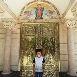 Jean Ibrahim outside the Armenian church that is part of the Al Manar elementary school complex in the Old City, Damascus. Click to enlarge
