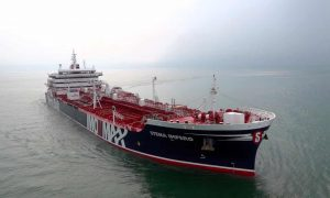 Iran claims to have seized British oil tanker in strait of Hormuz