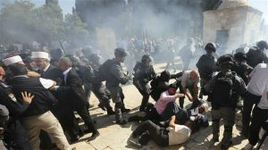 Al Aqsa clash. Click to enlarge