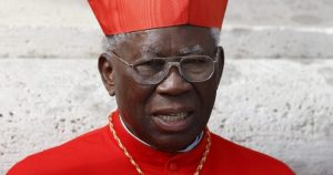 Cardinal Arinze. Click to enlarge