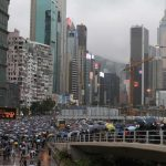 Thousands of protesters thronged the streets of Hong Kong again this weekend. Click to enlarge