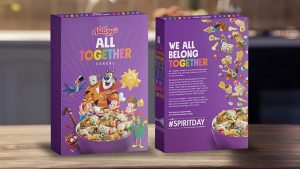 Kellogg's introduces new gay cereal to teach children how to become transgenders