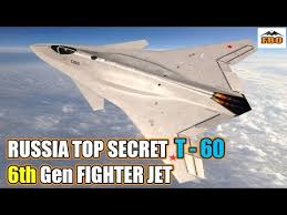 Russia's top secret T-60 6th-generation fighter aircraft Pigeon