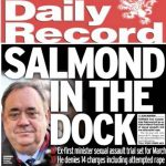 Alex Salmond in court accused of sexual offences