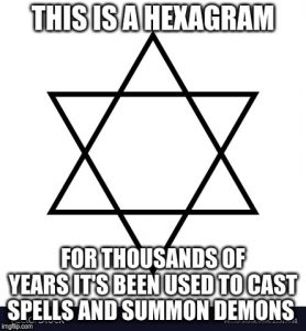 """Hexed"" --  Hexagram Holds Humanity Hostage"