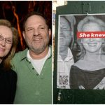 "Meryl Streep Targeted by Street Artists With ""She Knew"" Posters"