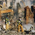BLM terrorists cut down memorial to 9-11 firefighters in New York