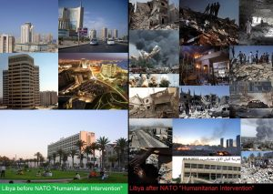 Libya: before and after NATO 'intervened'. Click to enlarge