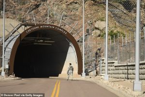 Cheyenne Mountain command complex. Click to enlarge