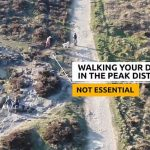 Many will have seen the films, pictured, taken by Derbyshire police drones, of lonely walkers on the remote, empty hills, publicly pillorying them for not obeying the regulations. It is genuinely hard to see what damage these walkers have done, writes PETER HITCHENS. Click to enlarge