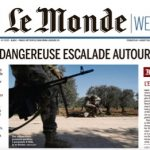 """Le Monde"" : SYRIA : DANGEROUS ESCALATION AROUND IDLIB  -> ""At least 33 Turkish soldiers were killed on Thursday, February 27th in Idlib, northwestern Syria, by Bashar al-Assad's forces, backed by Russian aircraft.  -> Ankara in retaliation has bombed Syrian positions and is threatening the Europeans to allow an influx of refugees to the west. -> Nearly 900,000 people, 80 per cent of them women and children, have fled the fighting in the Idlib region since December 2019"". Click to enlarge"