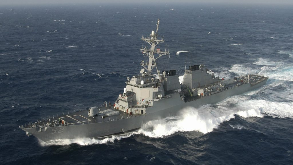 Chinese military expels USS Barry from Paracel Islands