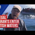 Nigel Farage condemns media for not reporting migrant boats