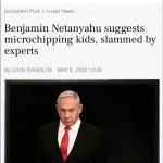 It's Official! Benjamin Netanyahu Proposes Mark of The Beast