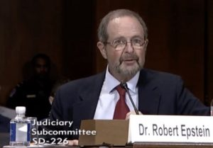 Doctor Robert Epstein testifies about unchecked influence on social media