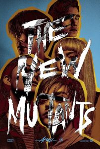 "This is a poster for the new Marvel film ""The New Mutants"". Each actor has one eye hidden. Click to enlarge"
