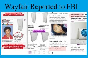 Wayfair reported to FBI. Click to enlarge