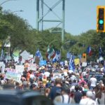 MAJOR: Tens of Thousands of Quebecois Stage Mass March Against Plandemic Tyranny