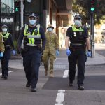 Premier Dan Andrews lockdown enforcers. Click to enlarge