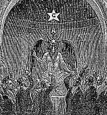 Baphomet during a summons