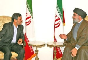 Ahmadinejad met with Hezbollah head Nasrallah